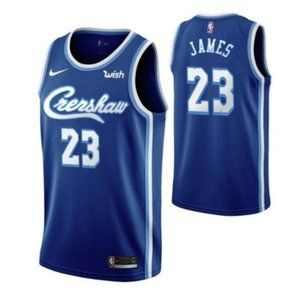 Los Angeles Lakers LeBron James Blue Jersey